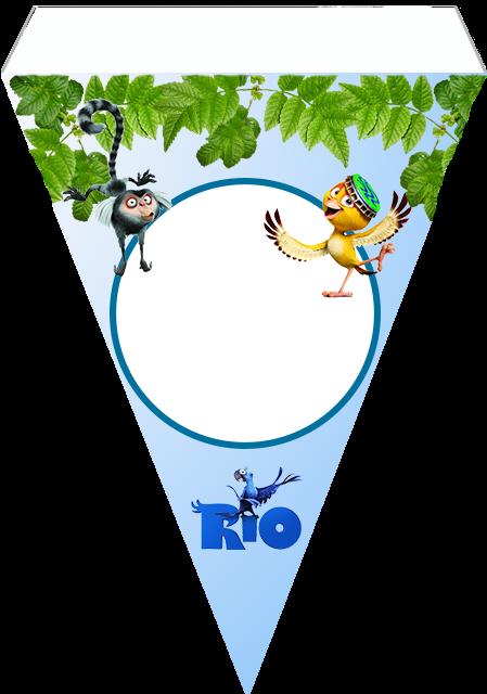 Rio, Free Printable Banner.