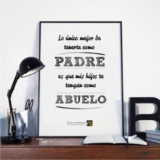 Ejemplo de imprimible enmarcado para el día del padre