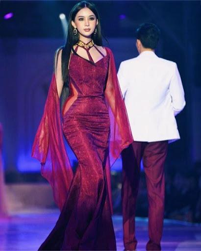 Elizabeth WanMai Thammavong @elizabeth_wanmai most beautiful Laos trans model fashion show Instagram