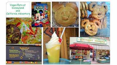 Vegan Eats at Disneyland and California Adventure