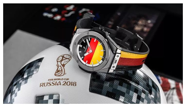 Check Out The Big Bang Referee - New Hublot's Wear OS For Russia World Cup 2018 Referees