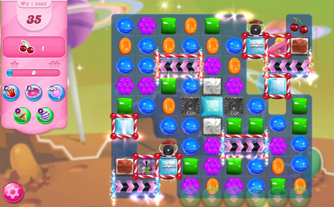Candy Crush Saga level 6603