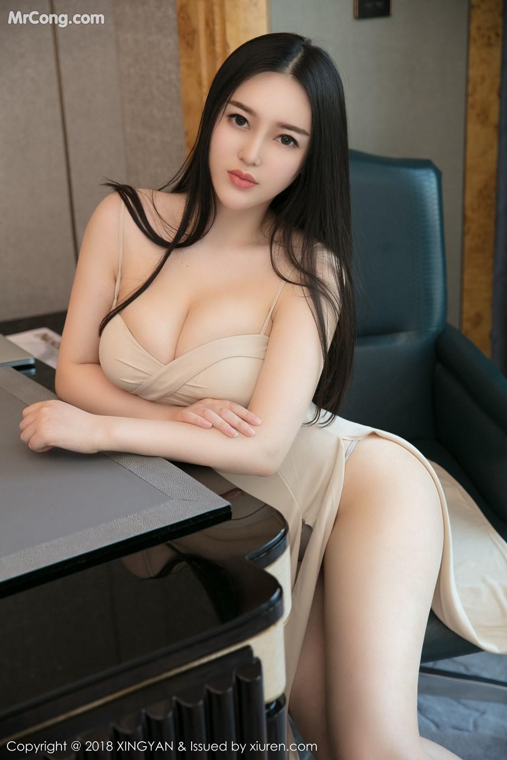 Image XingYan-Vol.031-En-Yi-MrCong.com-002 in post XingYan Vol.031: Người mẫu En Yi (恩一) (43 ảnh)