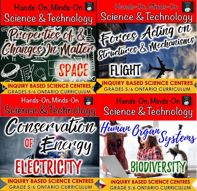 GRADES 5/6 COMBINED GRADE SCIENCE RESOURCES