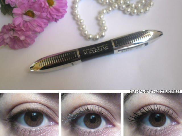 L'Oreal False Lash Superstar Mascara : Review
