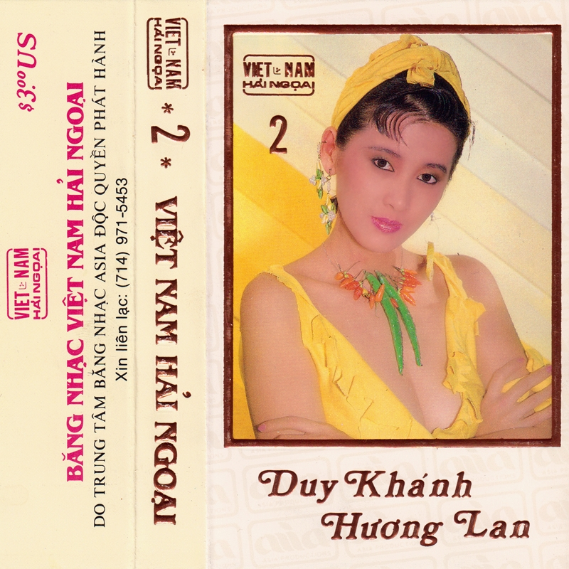 Tape Việt Nam Hải Ngoại 2 - Duy Khánh, Hương Lan (WAV)