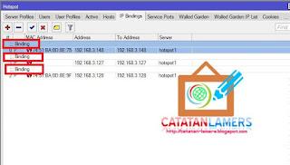 Script Auto Redirect User yang dibinding/bypass ke Halaman Isolir