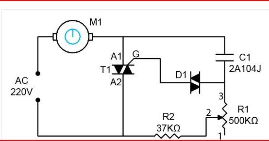 variable speed 220v motor wiring diagram