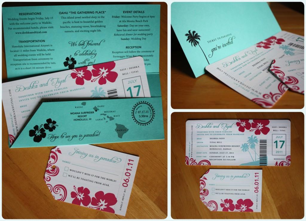 Boarding Pass Wedding Invitations Template: Purple Wedding Invitations: Boarding Pass Wedding Invitations