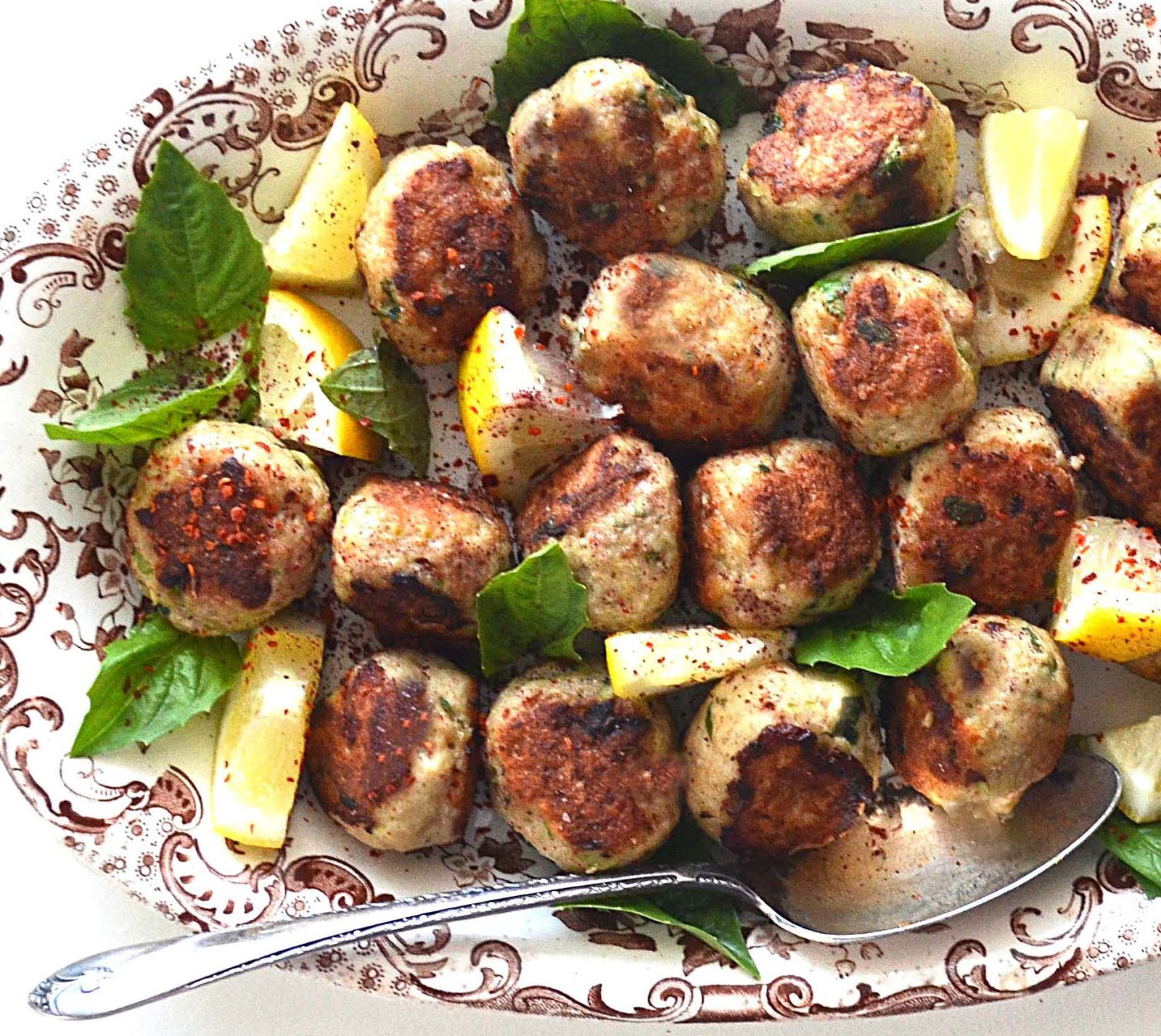 Middle Eastern Chicken Meatballs Foodgawker