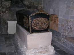bishop's coffin