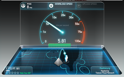 Kiểm tra tốc độ Internet không cần phần mềm