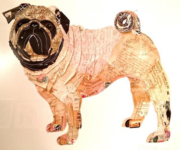 Adorable Dog Collage Art-2