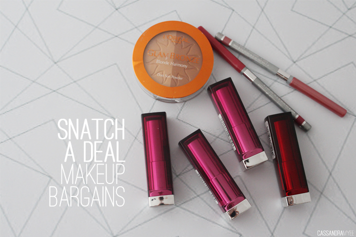 SNATCH-A-DEAL // Makeup Bargains [Feat. L'Oreal, Maybelline + Covergirl] - cassandramyee