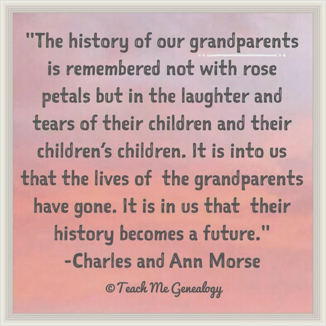 Quotes Loss Of Grandparents. QuotesGram