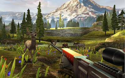 Tampilan Game Deer Hunter 2017