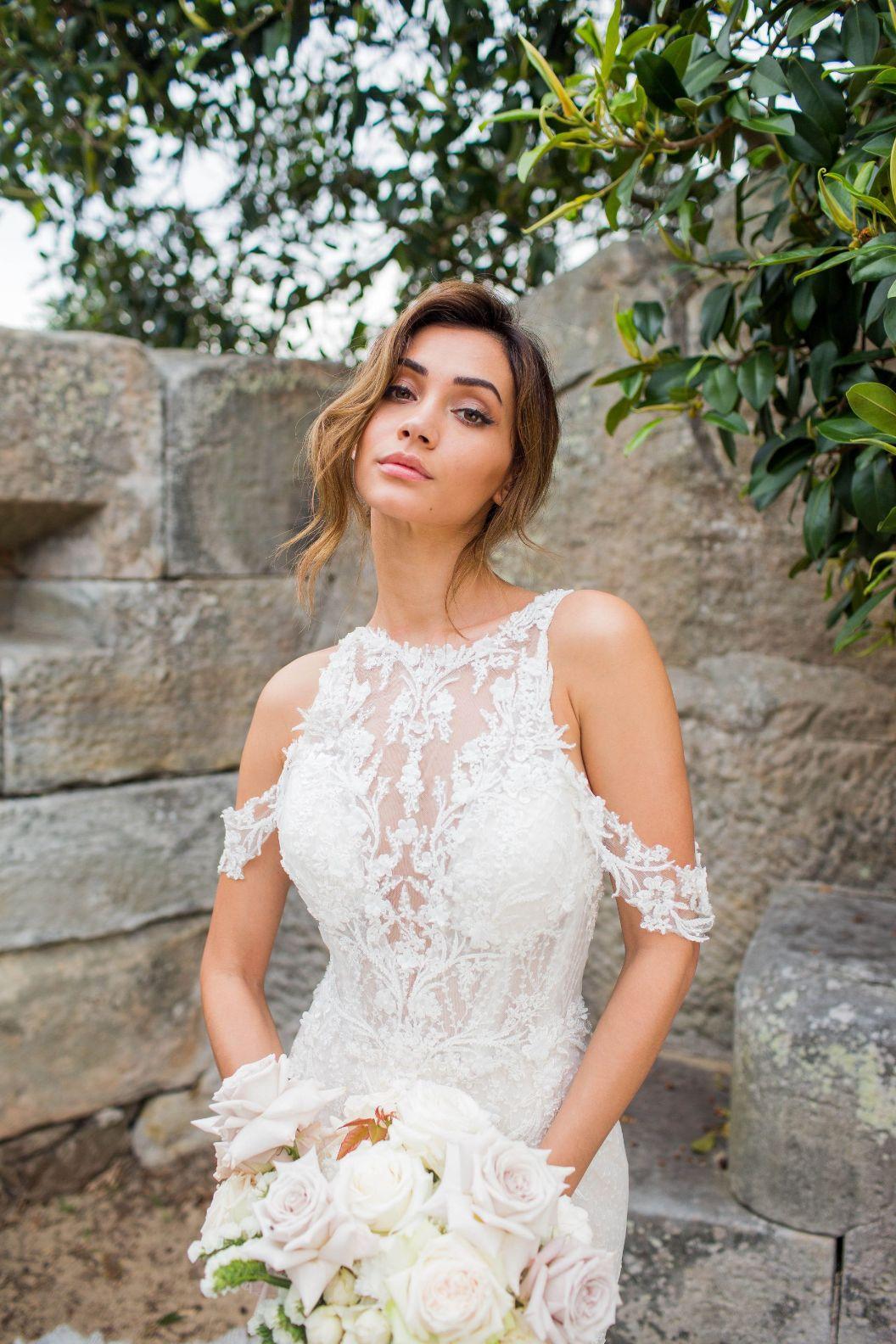 khatira alina couture bridal gown wedding dress australian designer sydney bride