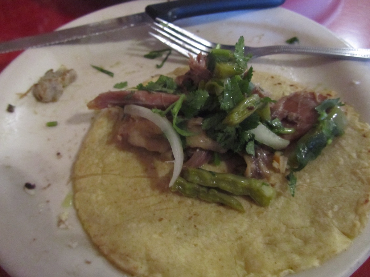 Cakes And Ale: El Huarache Azteca in Fruitvale neighborhood of Oakland