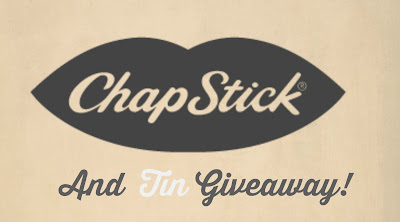 ChapStick Giveaway Logo