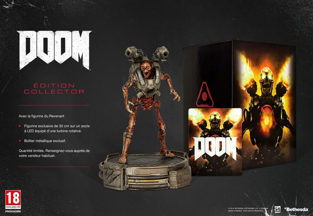 FPS : Doom revient en mai sur PS4, Xbox One et PC