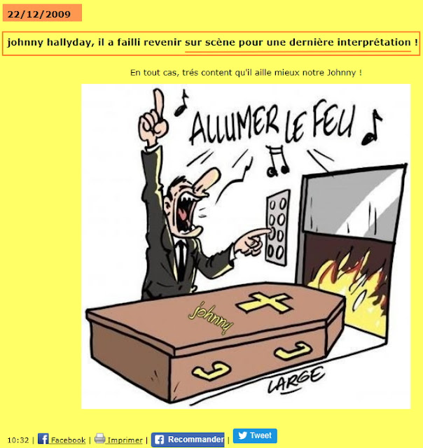Pasidupes Mort De Johnny Hallyday Quand Les Affreux De La Gauche