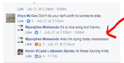 Check out Young  Zambian Musician That Committed Suicide 3