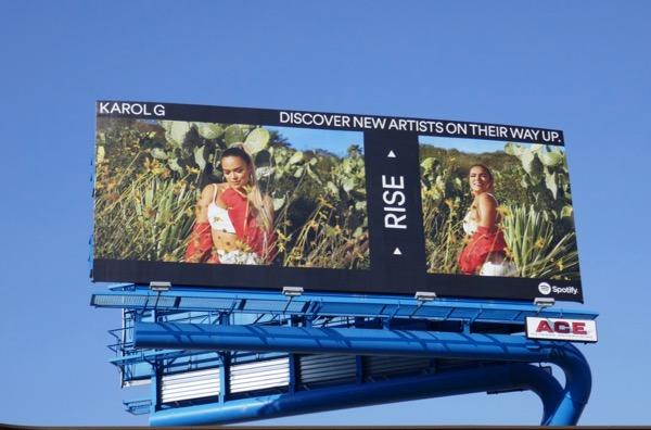 Karol G Spotify Rise billboard