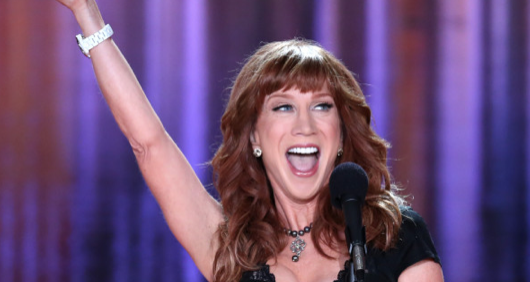 "Starless, Starless Night: Comedian Kathy Griffin is the Only Recognizable ""Name"" at the White House Correspondents Dinner"