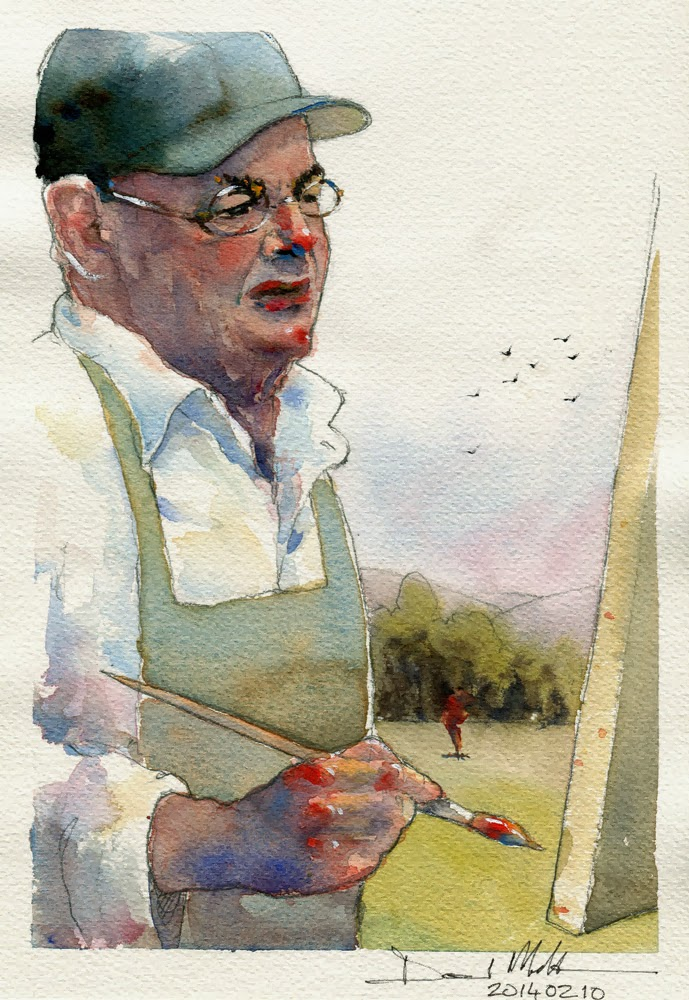 Charles Reid by David Meldrum