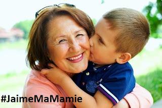 Mamie et son petit fils