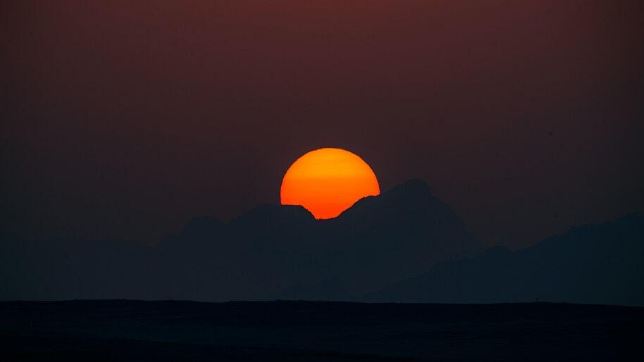 Sunrise, Scenery, Landscape, 8K, #4.2327