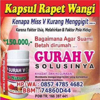Kapsul Ratu Rapet Wangi Miss V Longgar