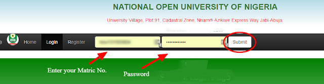 5 How to Log into Noun Students Portal for Noun onlineRegistrations.png