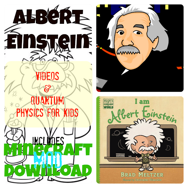 Albert Einstein Video and Lesson Plans for Kids