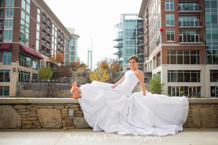 Downtown Greenville Bridal Photography | Mrs  Hannah