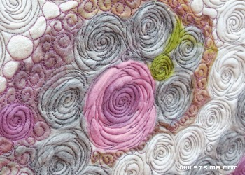 trojwymiarowy art quilt