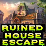 Ruined house escape walkthrough for Minimalistic house escape 5 walkthrough