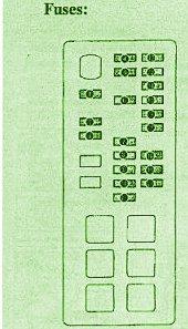 Toyota Fuse Box Diagram: Fuse Box Toyota Hiace Diagram