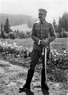 Józef Piłsudski, brygadier Legionów Polskich - 1916