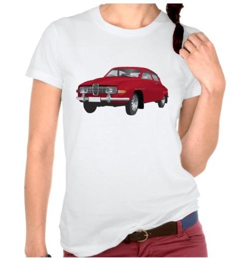 Red Saab 96 V4