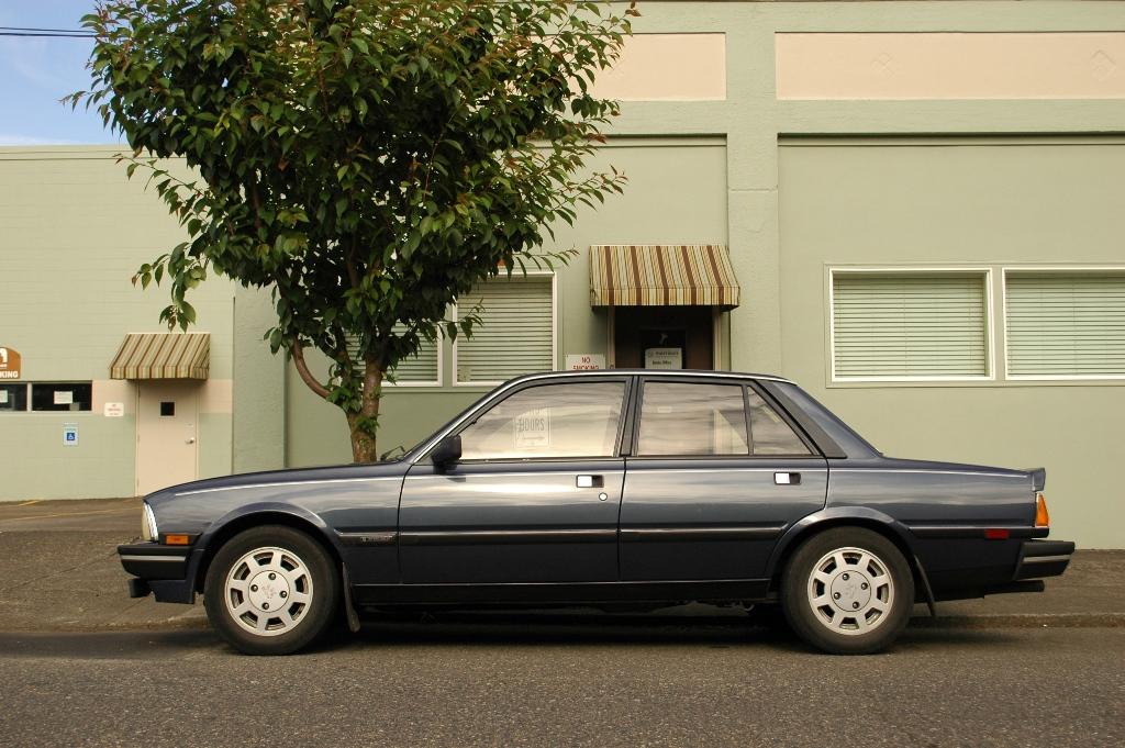 old parked cars 1987 peugeot 505 turbo s. Black Bedroom Furniture Sets. Home Design Ideas