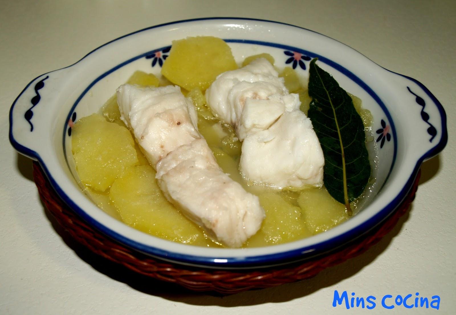 Receta de merluza cocida con patatas