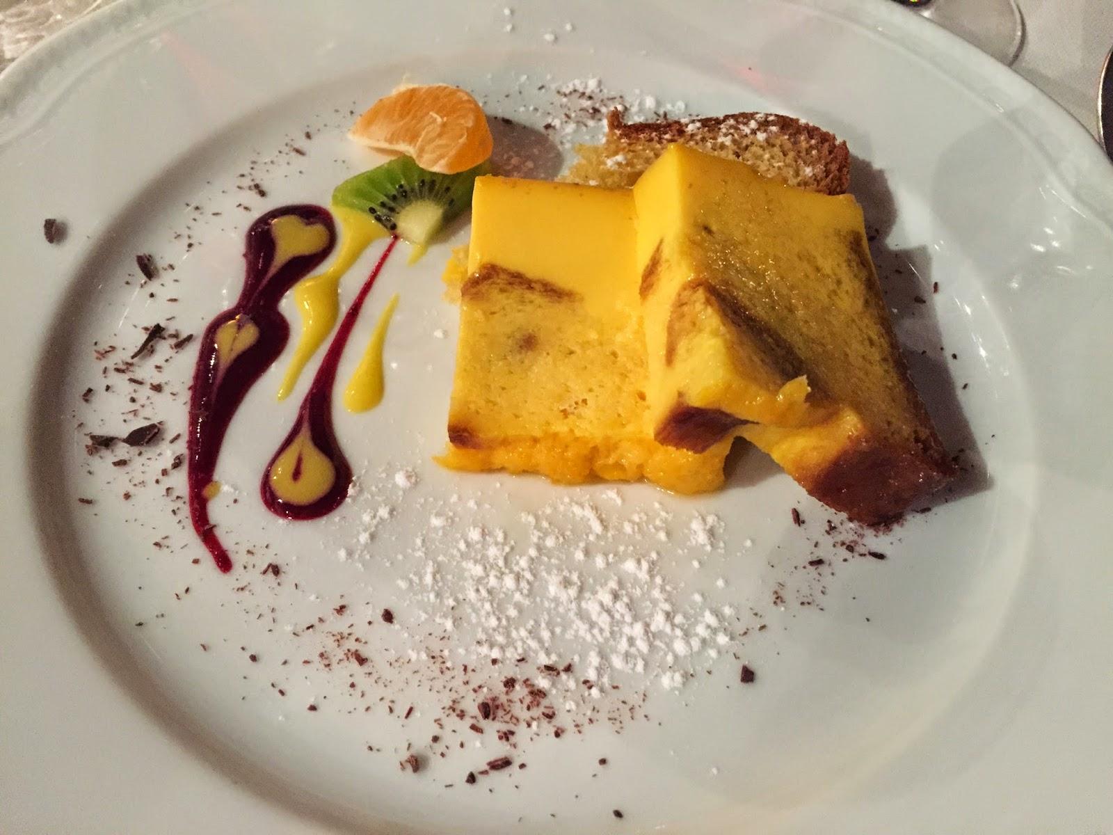 dessert at Enoteca della Valpolicella