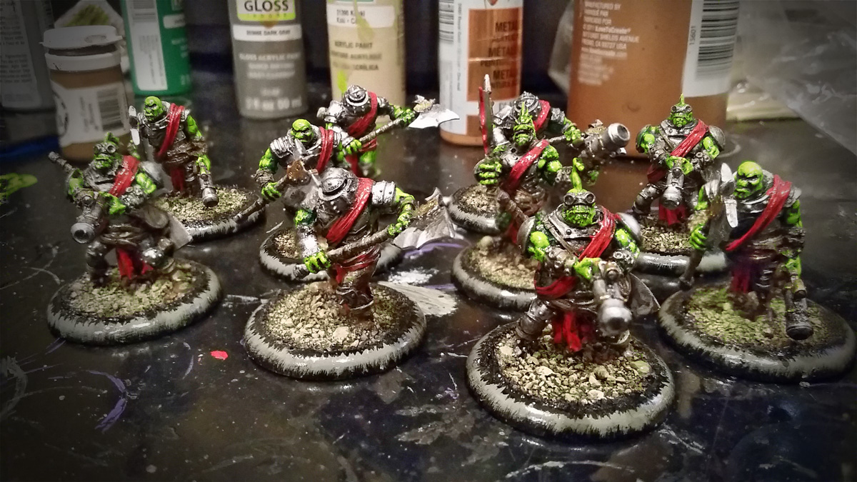 Boomhowlers Painted