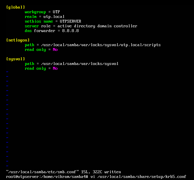Dis Is For U   : How to make an Ubuntu Active Directory