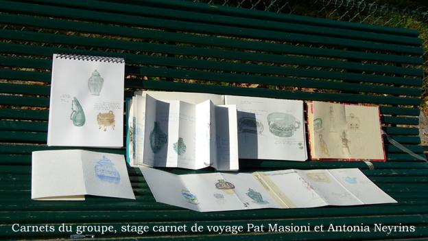 stage atelier workshop carnet carnets de voyage antonia neyrins pat masioni  paris asie dessin croquis aquarelle