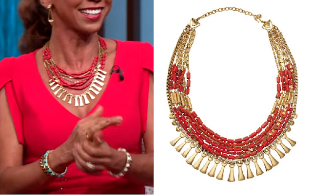 Stella & Dot Bliss Statement Necklace - Holly Robinson Peete on the Steve Harvey Show