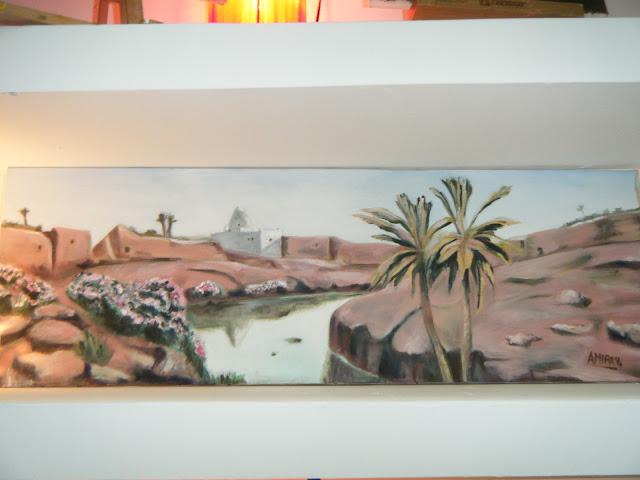Les peintures de mes élèves à l'expo 22