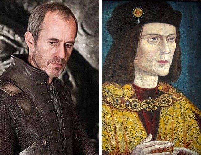 Pessoas reais que inspiraram os personagens de Game of Thrones