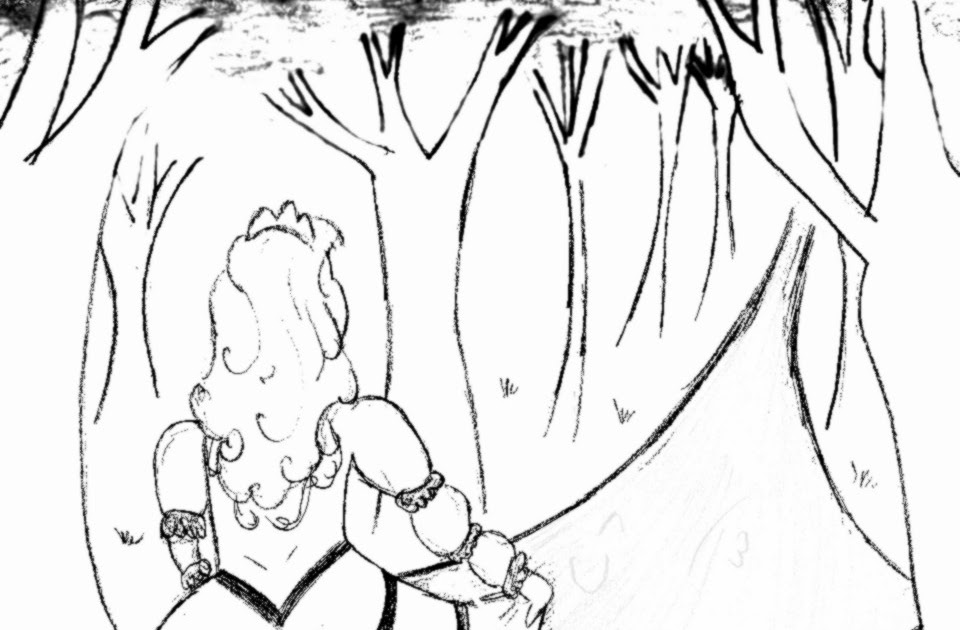 Coloriages Sur Mesure: Dessin à colorier: La Princesse s